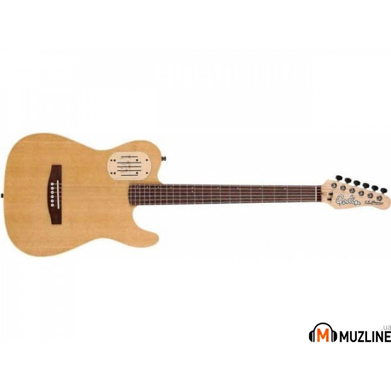 Электроакустическая гитара Godin Acoust DLX Natural RN with Bag (Acousticaster)