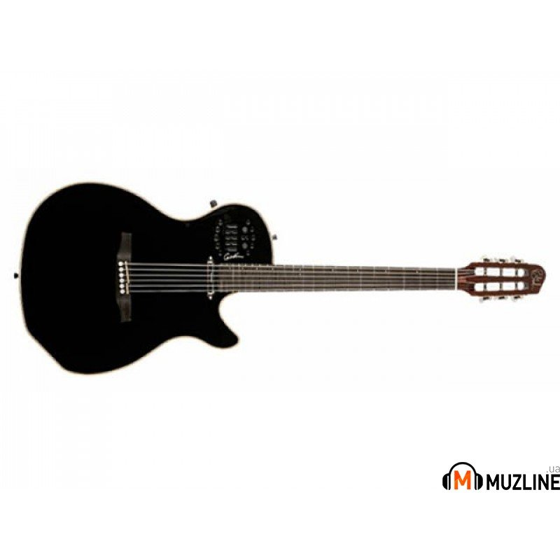 Электроакустическая гитара Godin Multiac Spectrum (SA) Black HG SF with Bag