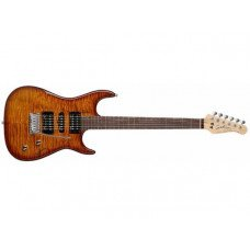 Электрогитара Godin Freeway Classic Light Burst Flame RN W/Bag