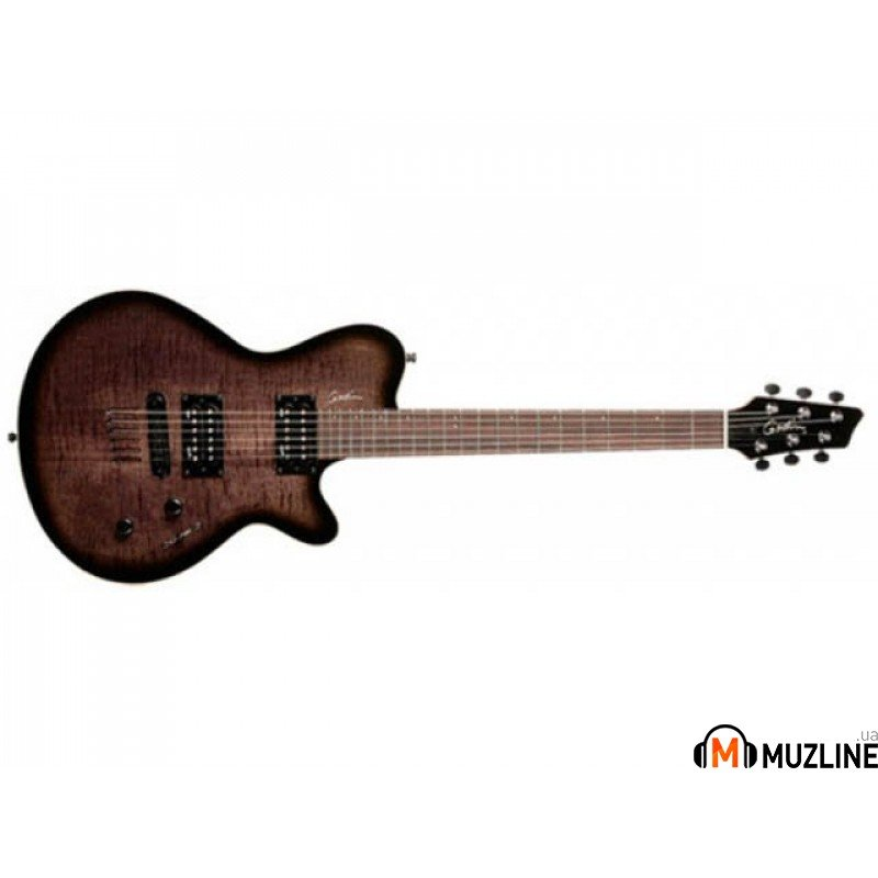 Электрогитара Godin LG HB Trans Black Flame with Bag