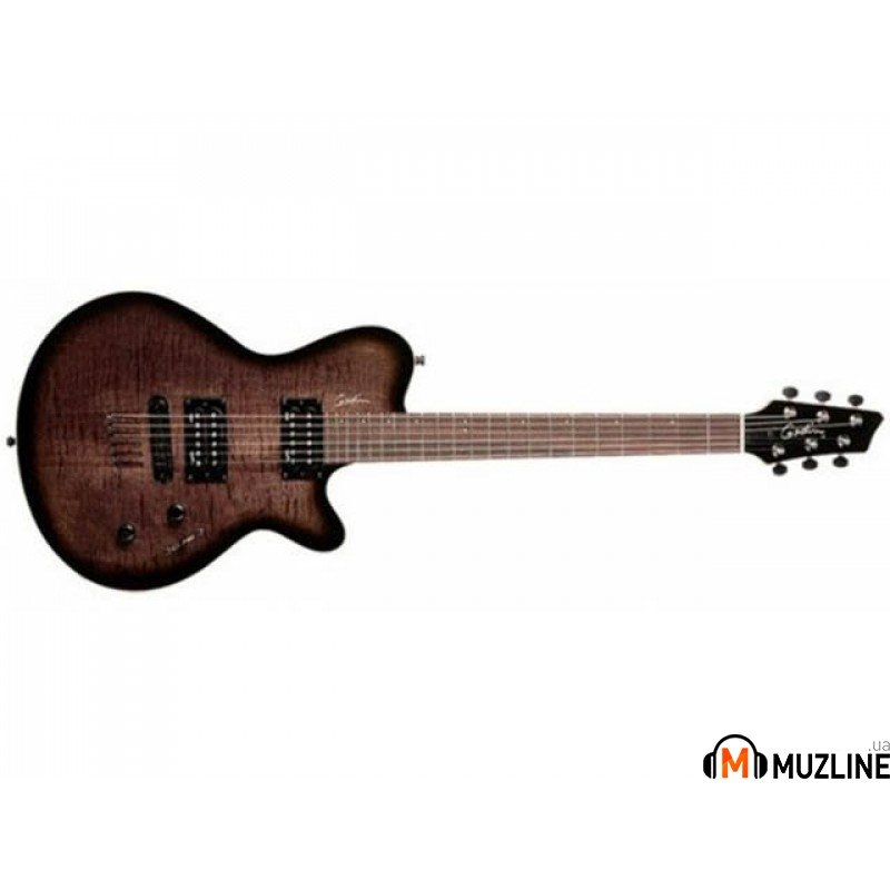 Электрогитара Godin LG Signature Trans Black Flame AA W/Bag