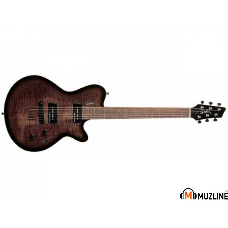 Электрогитара Godin LG SP90 Trans Black Flame with Bag