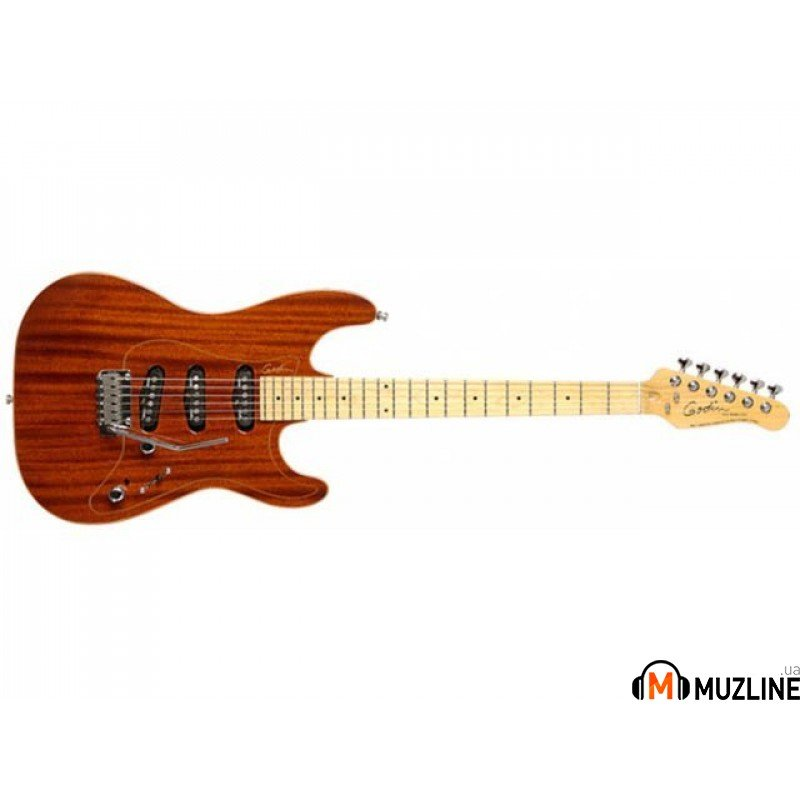 Электрогитара Godin Passion RG3 Natural Mahogany MN with Tour Case