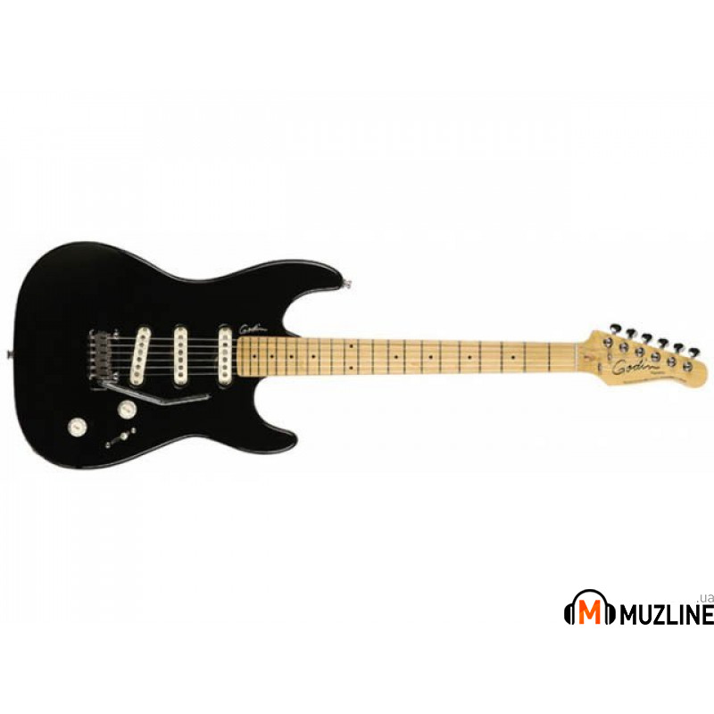 Электрогитара Godin Progression Black MN with Bag