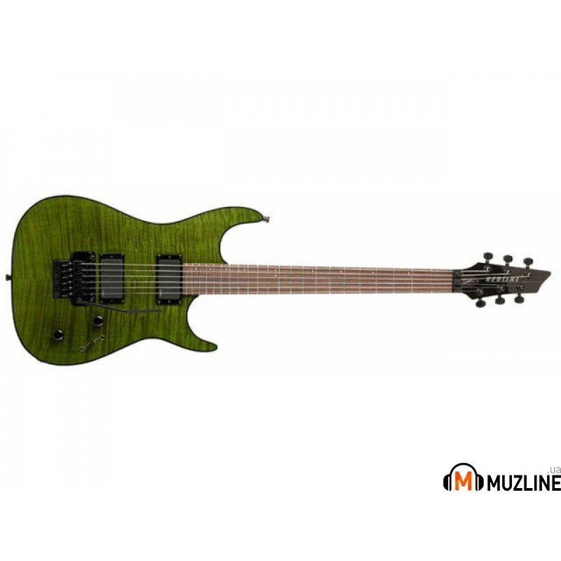Электрогитара Godin Redline 3 Trans Green Flame HG RN with Bag