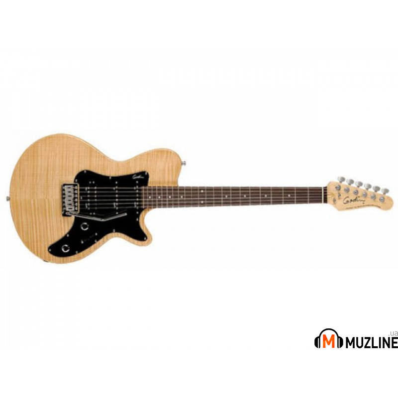 Электрогитара Godin SD Natural Flame RN with Bag