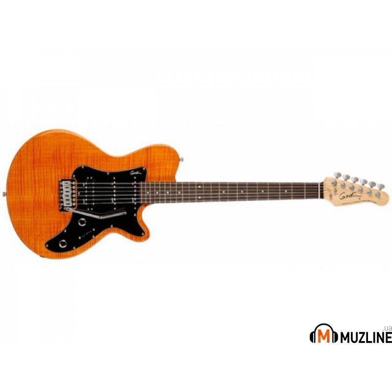 Электрогитара Godin SD Trans Amber Flame RN with Bag