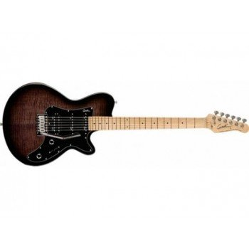 Электрогитара Godin SD Trans Black Flame MN with Bag