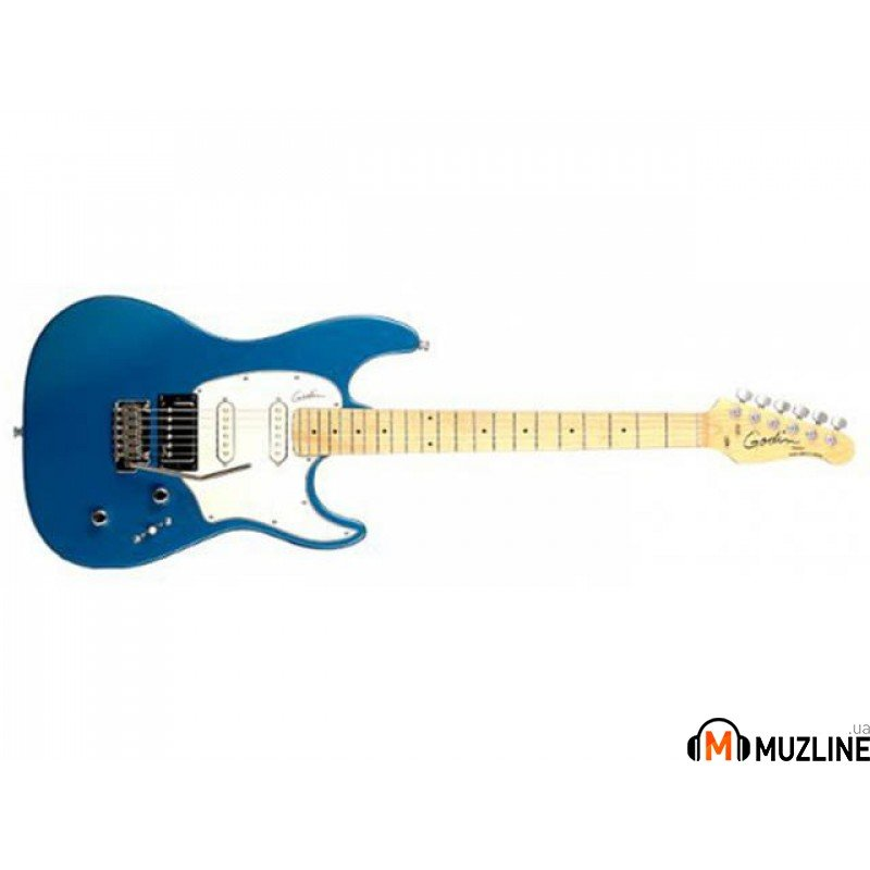 Электрогитара Godin Session Electric Blue HG MN with Bag
