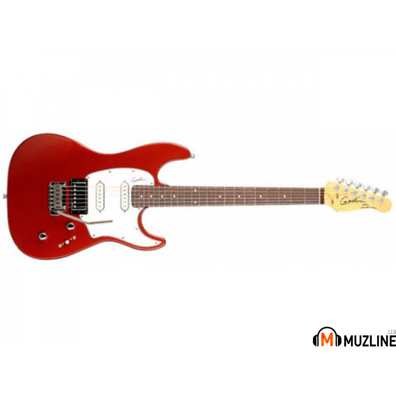 Электрогитара Godin Session Electric Red HG RN with Bag