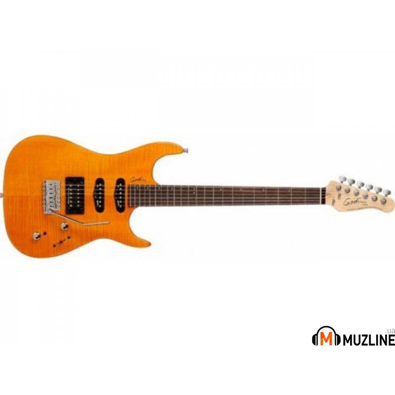 Электрогитара Godin Velocity H.D.R. Amber Flame RN with Bag