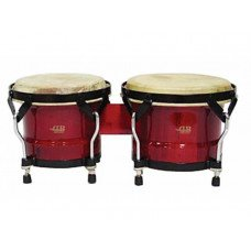 "Бонго DB Percussion BOBBS-500, 7"" & 8.5"" Wine Red"