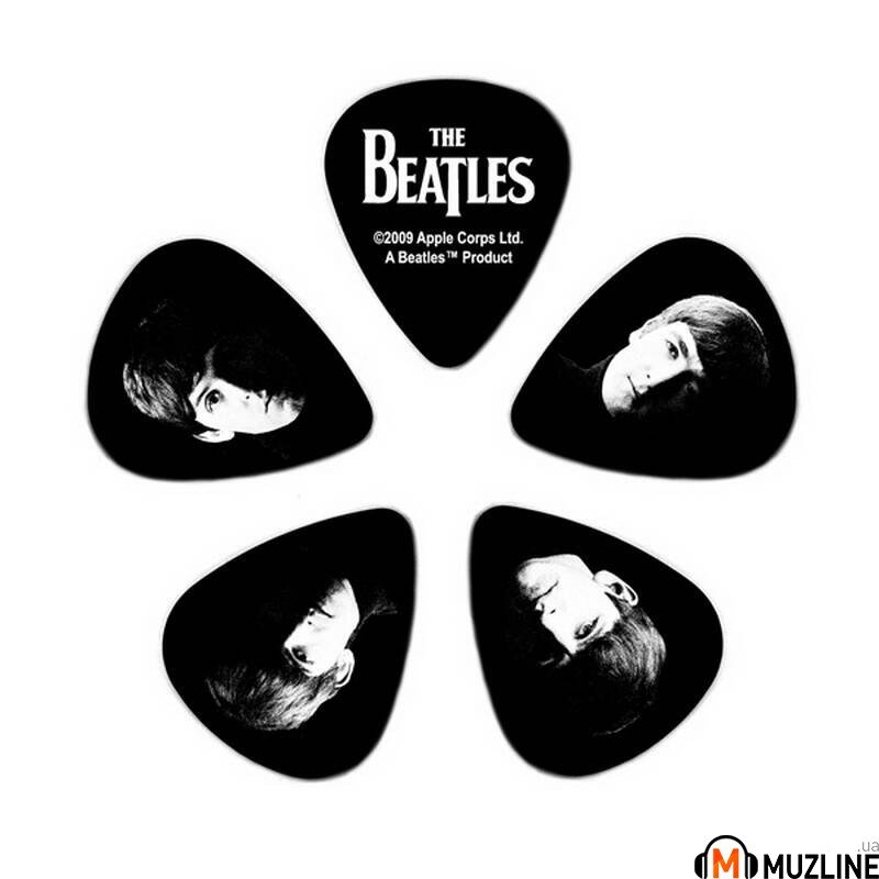 Planet Waves PW1CBK6-10B2 Beatles Picks - Meet The Beatles Heavy