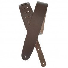 Planet Waves PW25BL01 Basic Classic Leather Guitar Strap, Brown