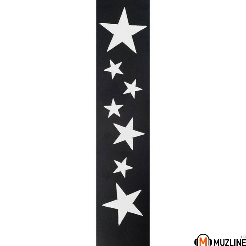 Planet Waves PW25L-STRS Icon Collection Guitar Strap, Stars