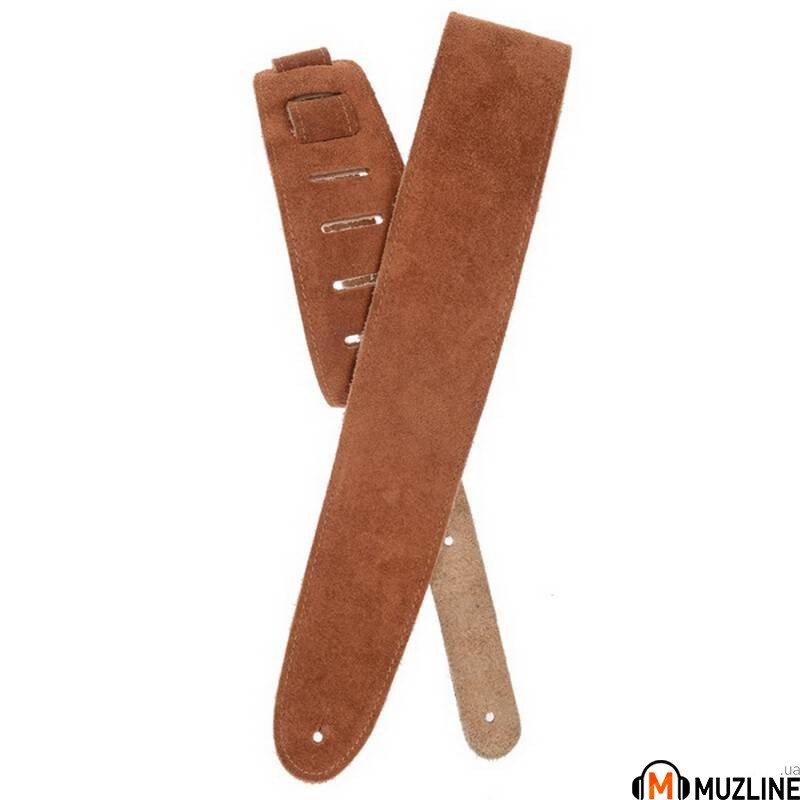 Planet Waves PW25SS02DX Suede Guitar Strap, Honey