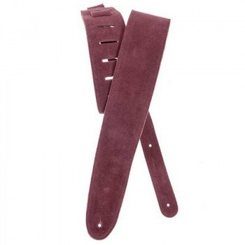 Planet Waves PW25SS03DX Suede Guitar Strap, Burgundy
