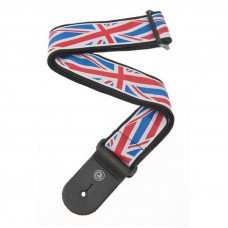 Planet Waves PW50A11 Woven Guitar Strap, Union Jack