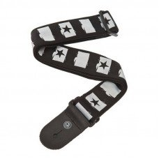 Planet Waves PW50C01 Woven Guitar Strap, Rock Star