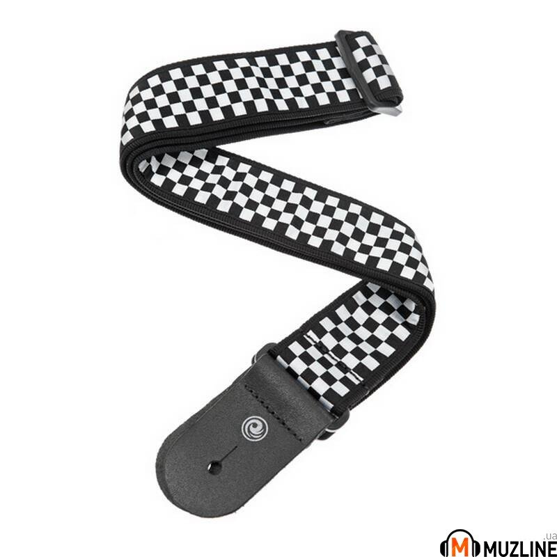 Planet Waves PW50C02 Woven Guitar Strap, Check Mate