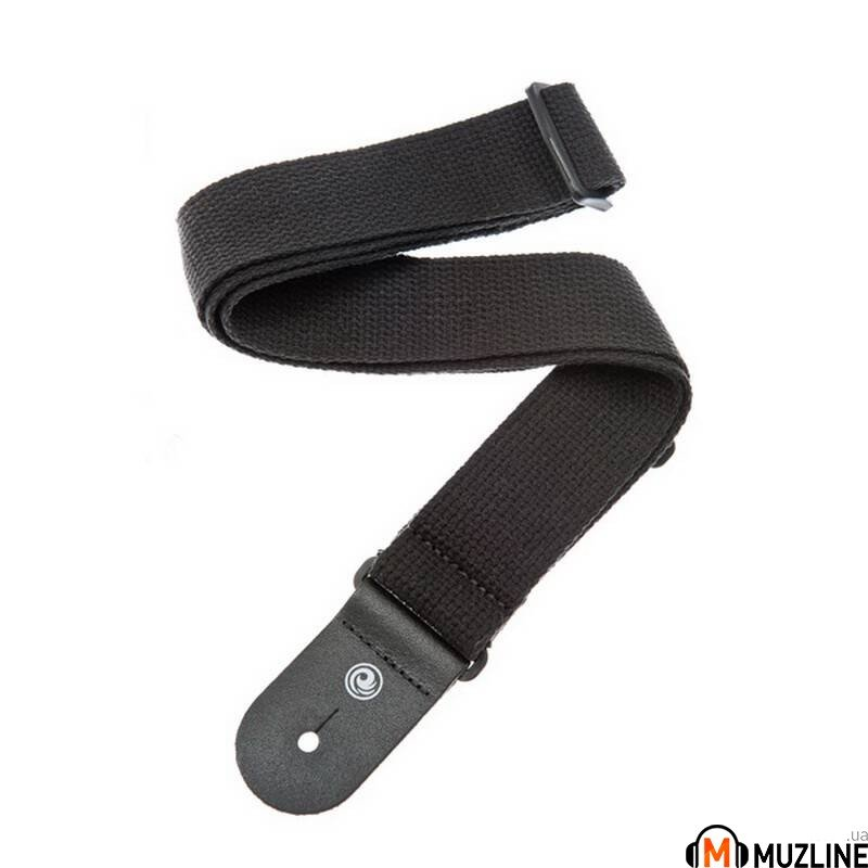 Planet Waves PW50CT00 Cotton Guitar Strap, Black