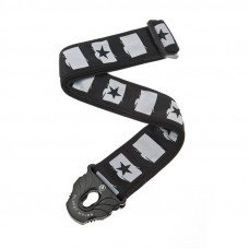 Planet Waves PW50PLC01 Planet Lock Guitar Strap, Rockstar