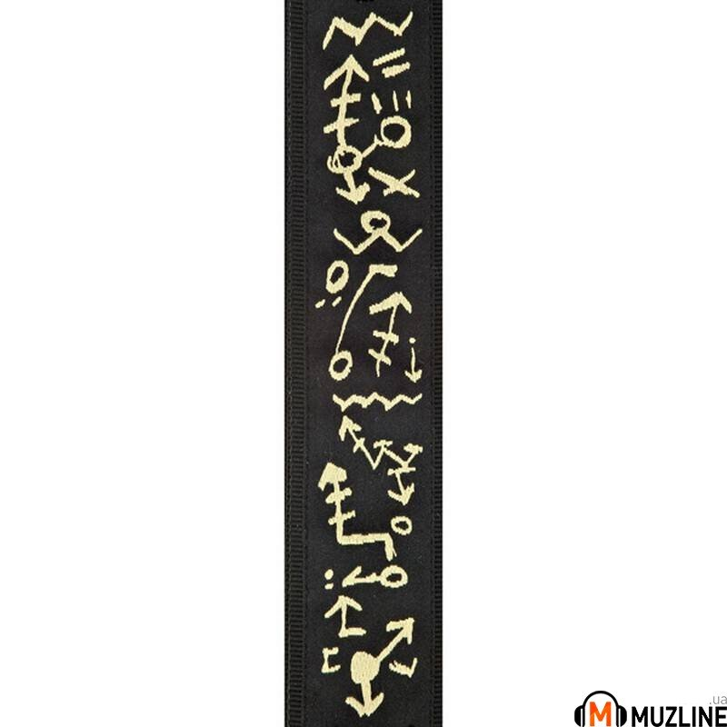 Planet Waves PW50PM01 Pat Metheny Guitar Strap, Travels