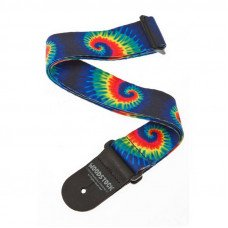 Planet Waves PW50W04 Woodstock Guitar Strap, Tie Dye
