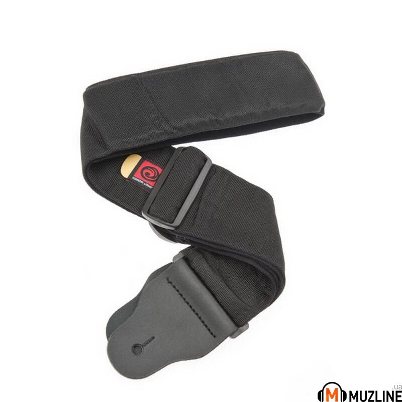 Planet Waves PW74T000 Bass Guitar Strap with Pad, Black