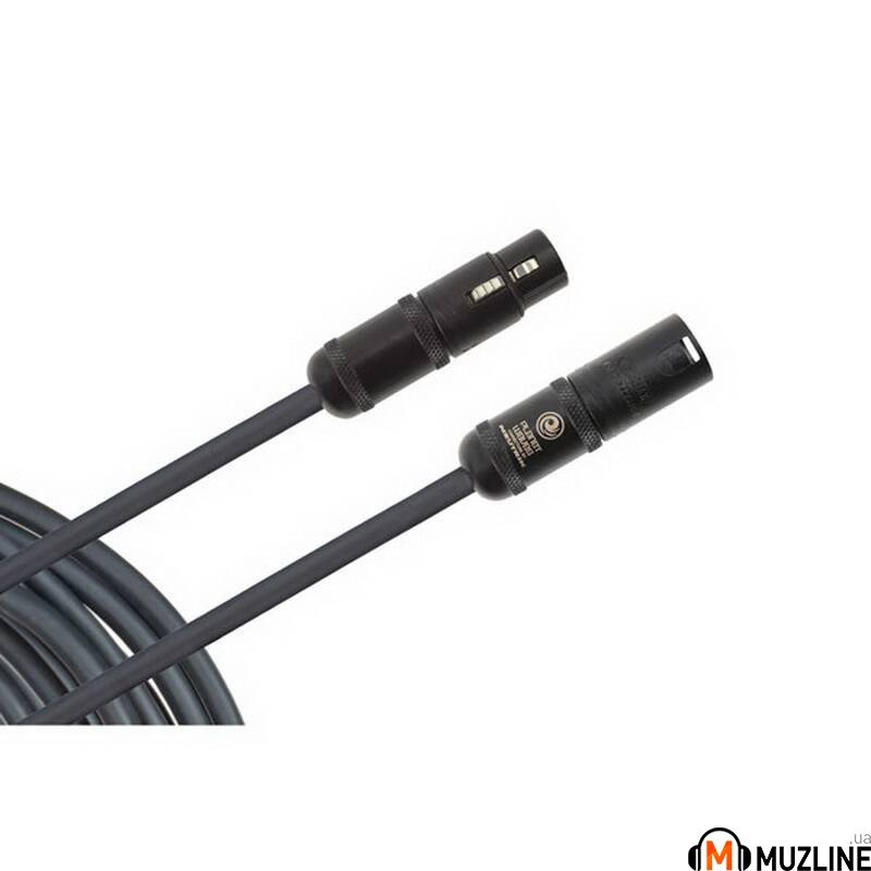 Микрофонный кабель XLR - XLR Planet Waves PW-AMSM-25 American Stage Microphone Cable, 25Ft
