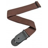 Planet Waves PWS109 Polypropylene Guitar Strap, Brown