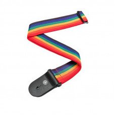 Planet Waves PWS111 Polypropylene Guitar Strap, Rainbow