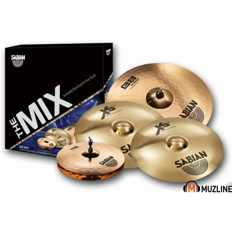 Sabian GIG Mix Set