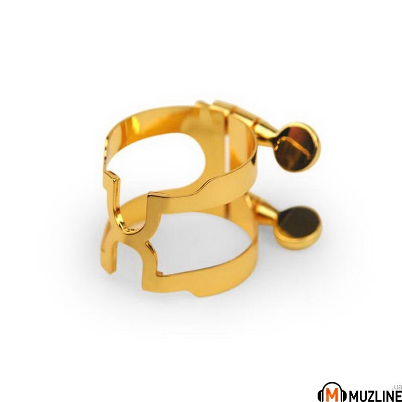 Rico HCL1G H-Ligature & Cap - Bb Clarinet Gold Plated