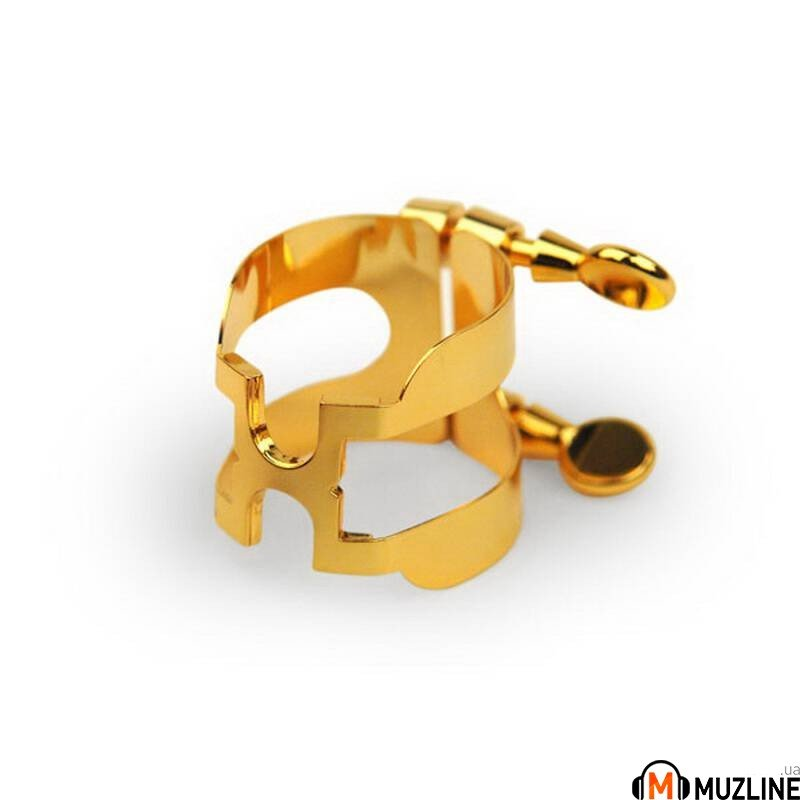Rico HTS1G H-Ligature & Cap - Tenor Sax Gold Plated