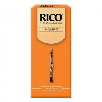 Трость Rico - Bb Clarinet #2.5 - 25 Box