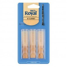 Трость Rico Rico Royal - Bb Clarinet #2.5 - 3-Pack