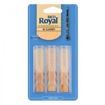 Трость Rico Rico Royal - Bb Clarinet #1.5 - 3-Pack