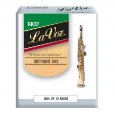 Трость Rico La Voz - Soprano Sax Medium Hard - 10 Box