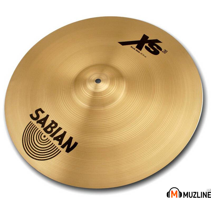 "Sabian 20"" Xs20 Rock Ride Brilliant"