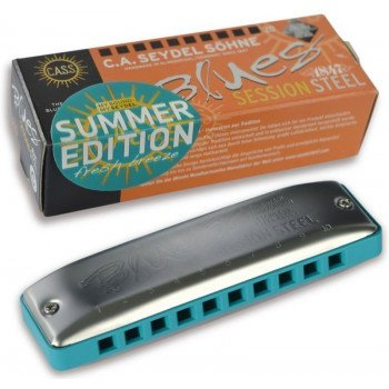 Губная гармошка Seydel Session Steel Summer Edition C-Major