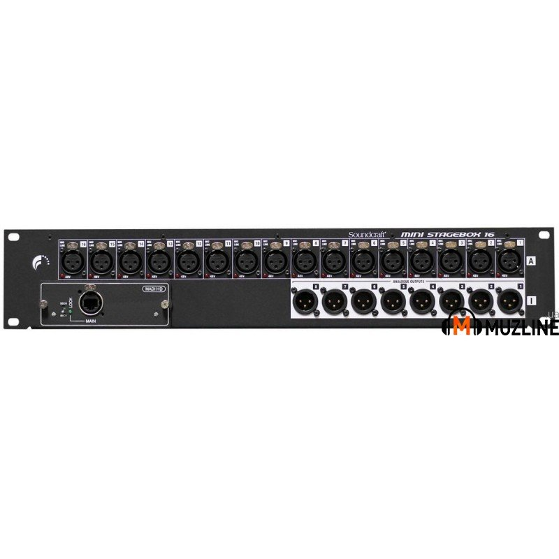 Soundcraft MSB-16 Cat5 Mini Stagebox