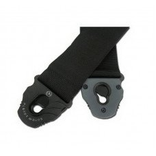 Planet Waves PWSPL200 Planet Lock Guitar Strap, Polypropylene, Black