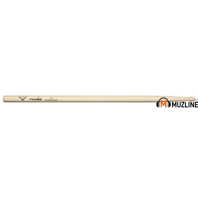 Барабанные палочки Vater VHN1AW American Hickory Nude 1A