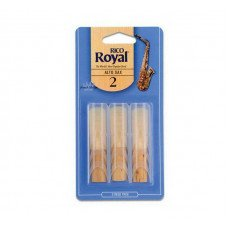 Трость Rico Rico Royal - Alto Sax #2.0 - 3-Pack