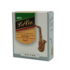 Трость Rico La Voz - Alto Sax Medium Hard - 10 Box