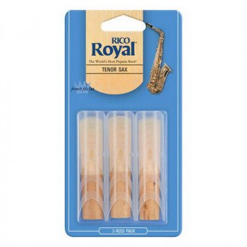 Трость Rico Rico Royal - Tenor Sax #2.5 - 3-Pack