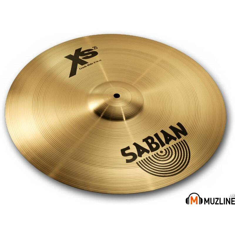 "Sabian 18"" XS20 Crash Ride Brilliant"