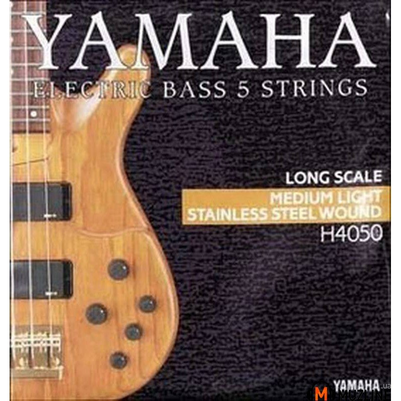 Струны для бас-гитары Yamaha H4050 Stainless Steel Medium Light 5 String 45-126