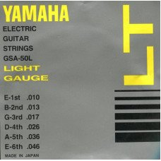 Струны для электрогитары Yamaha GSA50L Electric Light 10-46